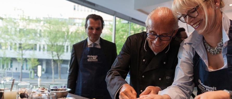 Elite Summit 2017 Küchenparty